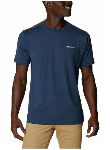 Columbia Columbia Erkek Lacivert Bisiklet Yaka T-Shirt Lacivert